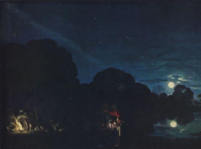 Adam Elsheimer, De vlucht naar Egypte, München, Alte Pinakothek