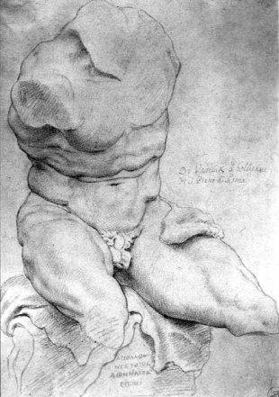 Rubens, Torso van Belvedere, Rubenshuis Antwerpen
