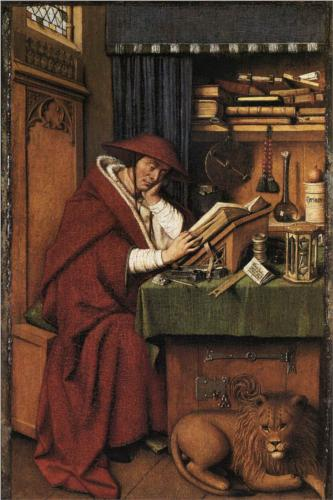 Van Eyck, Sint-Hieronymus, Detroit Institute of Arts, Detroit