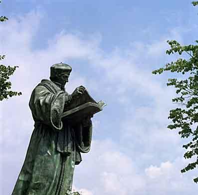 Erasmus in Rotterdam (foto Sijmen Hendriks)