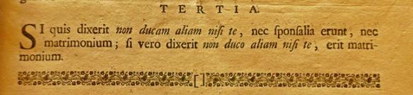 De juiste woorden voor een huwelijksbelofte, 1774. Leuven, Universiteitsbinbliotheek