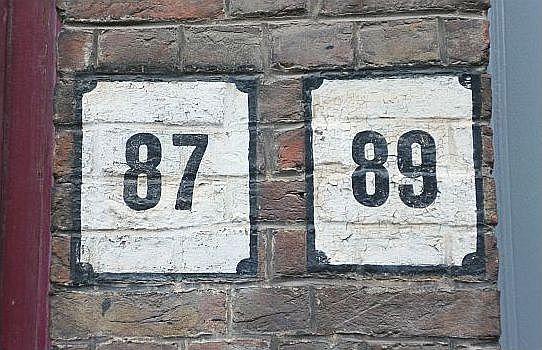 Huisnummers, Brugge