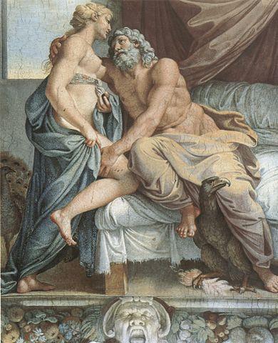 Annibale Caracci, Juno en Jupiter, Galleria Farnese, 1597.