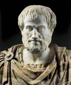 Aristoteles, Romeinse buste naar Grieks origineel, 2de eeuw, Museo nazionale romano, Rome