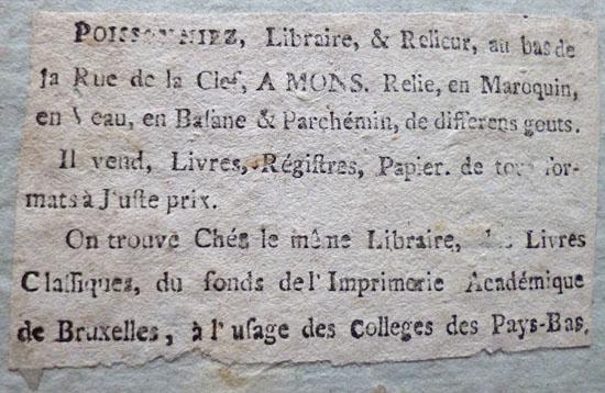 Etiket (18de eeuw)
