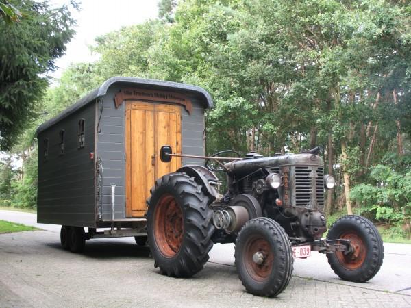 Mie Tracteur onderweg