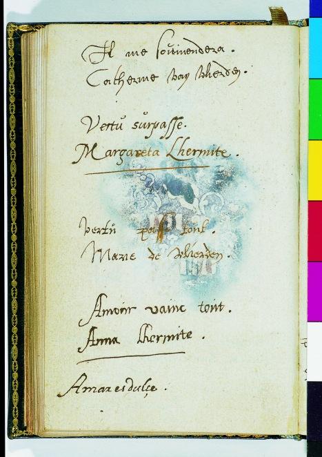 Album amicorum van Nicolaas en Adriaan Rockox, Rubenshuis, Antwerpen