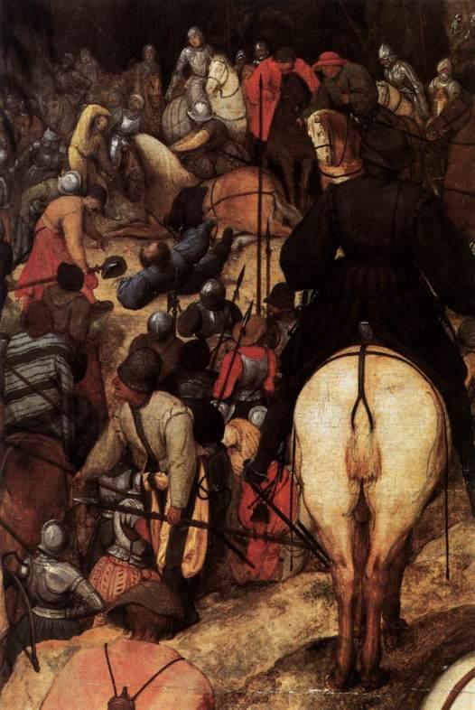 Pieter Bruegel, De bekering van Saulus (detail), Wenen, KHM