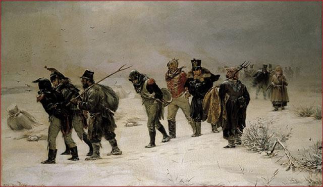 Ilarion Prianishnikov, In 1812, Tretyakov Museum, Moskou
