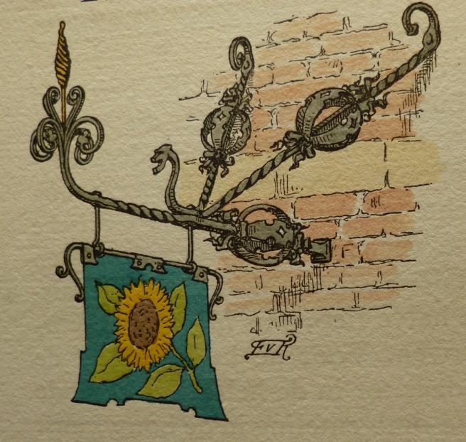Frans Van Kuyck, het uithangbord van huis De Zonnebloem in Oud Antwerpen