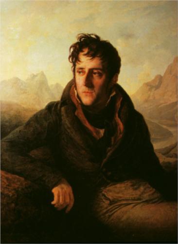 P. Guérin, Portret van F.-R. de Chateaubriand, privé-collectie.