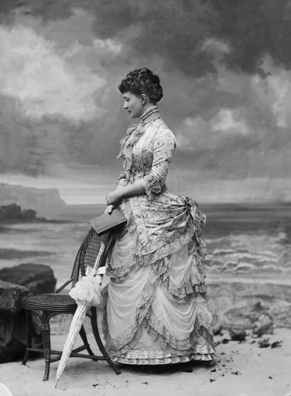 Mme Standish, Proustiaanse muze (foto Nadar)