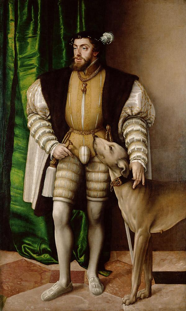 Bernard Van Orley, Karel, Louvre, Parijs