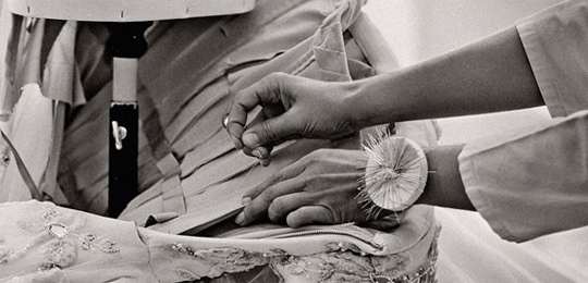 les petites mains, Dior