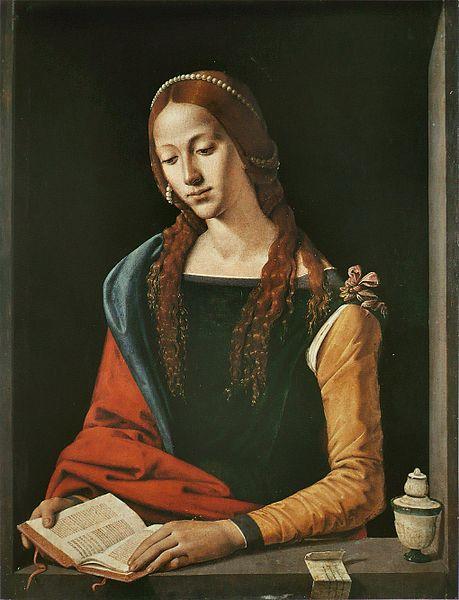 Piero di Cosimo, Maria Magdalena, Rome, Galleria Barberini