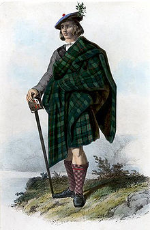 Macleod-clansman in 1845