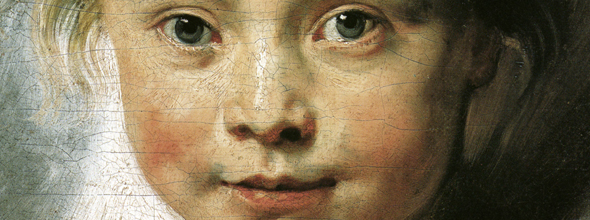 P.P. Rubens, Clara Serena Rubens, ca. 1615, Liechtenstein Museum, Wenen