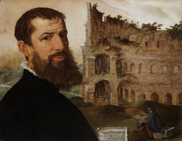 M. Van Heemskerck, Zelfportret, Fitzwilliam Museum, Cambridge