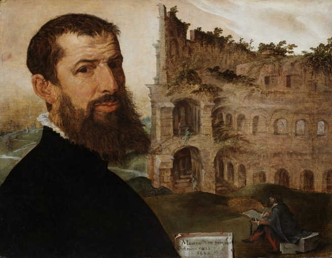 M. Van Heemskerck, Zelfportret, Fitzwilliam Museum, Cambridge