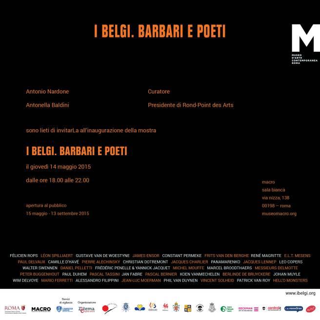 I Belgi Barbari e Poeti