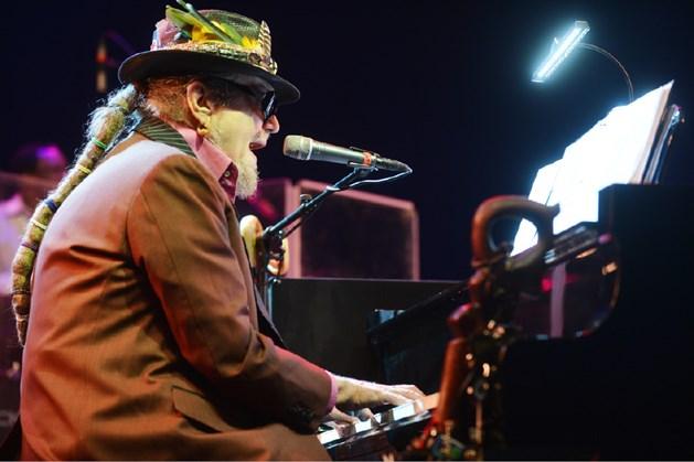 Dr. John op Jazz Middelheim (foto JVDP voor GVA)