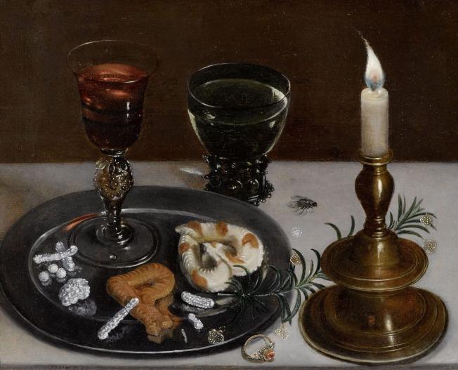 Clara Peeters, Stilleven, 1607, privé-collectie