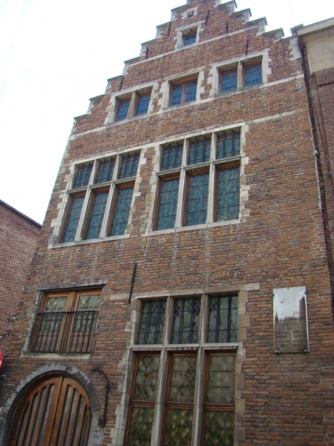 Het vermeende Bruegelhuis in de Brusselse Hoogstraat
