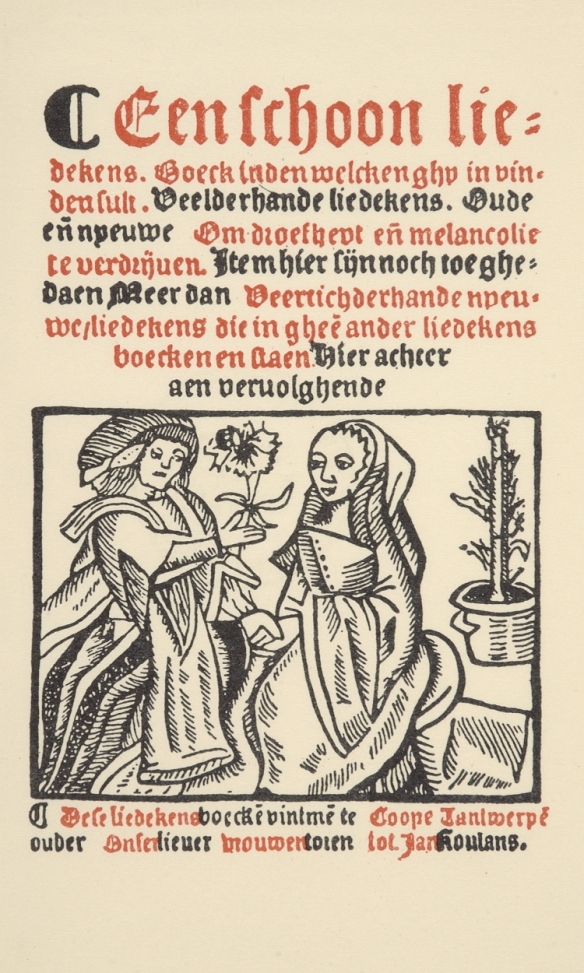 Een-schoon-liedkensboek-Antwerps-liedboek-1544