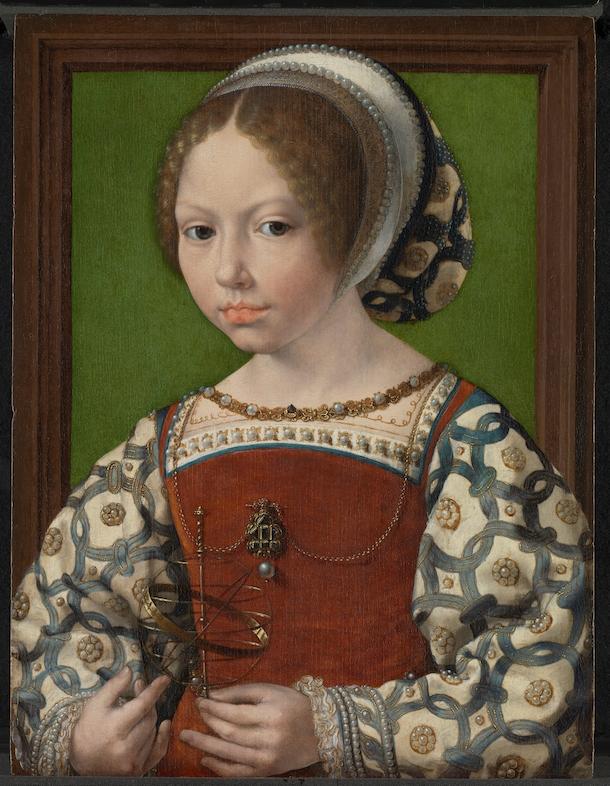 jan-gossaert_portret-van-een-jonge-prinses-met-armillarium