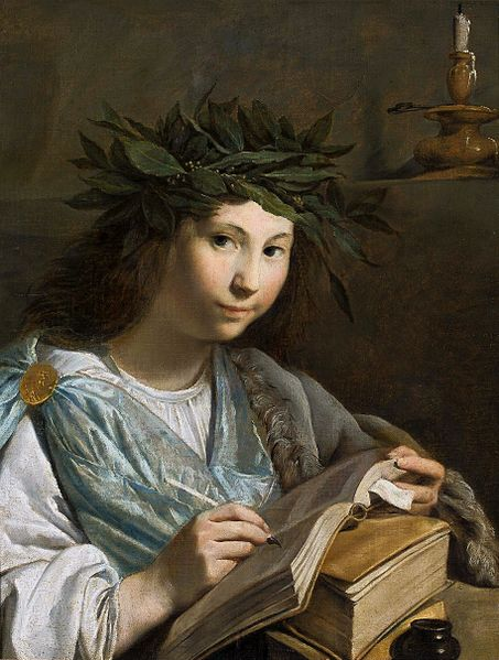 Moreelse_Clio_-_muse_of_history