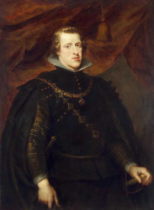 RUBENS-Peter-Paul-Rubens-Portret-van-Filips-IV-Museum-de-Hermitage